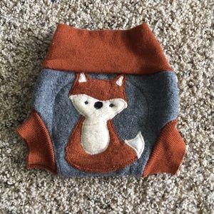 Merino wool diaper cover